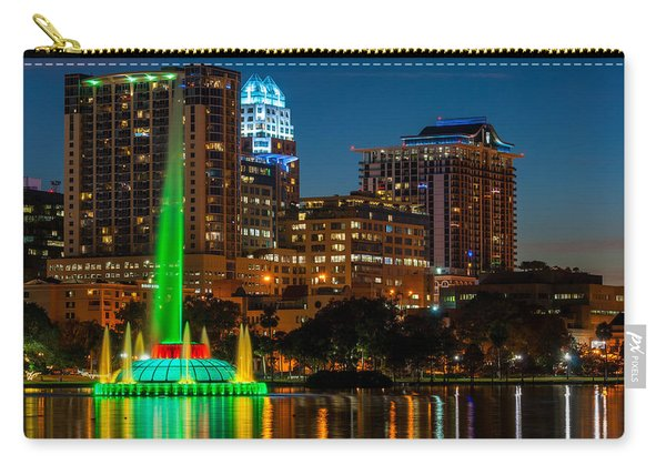 Lake Eola Fountain Carry-all Pouch