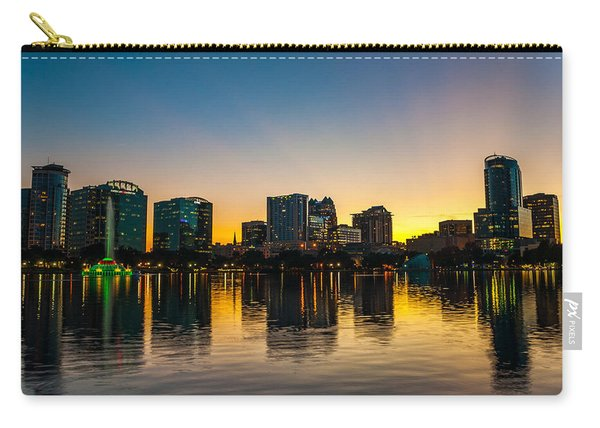 Lake Eola Sunset Carry-all Pouch