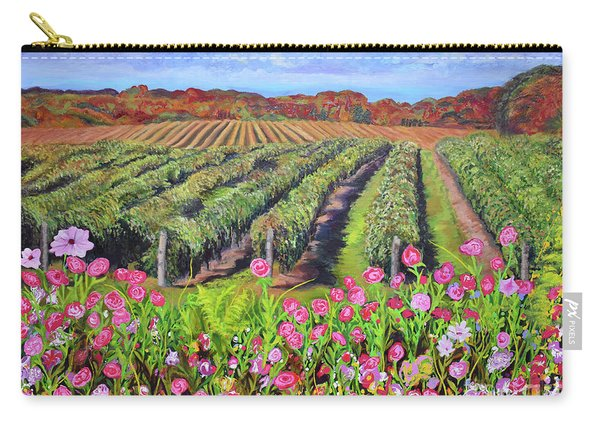 Lake Erie Vineyard-fall Colors Carry-all Pouch