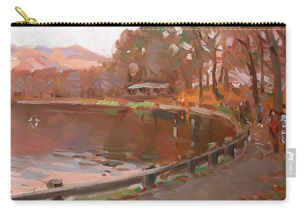 Lake In Bear Mountin Carry-all Pouch