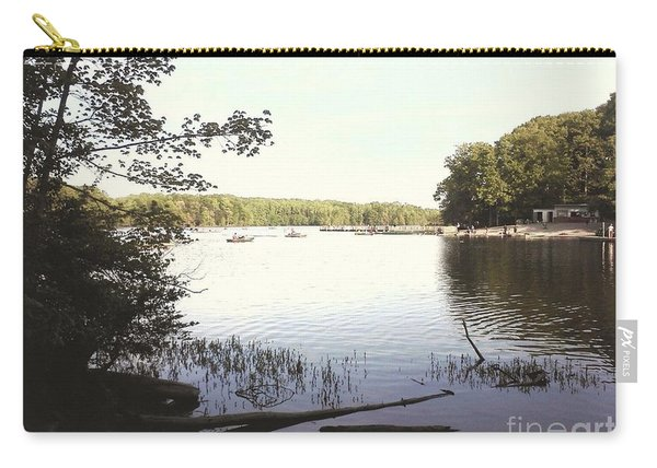 Lake At Burke Va Park Carry-all Pouch