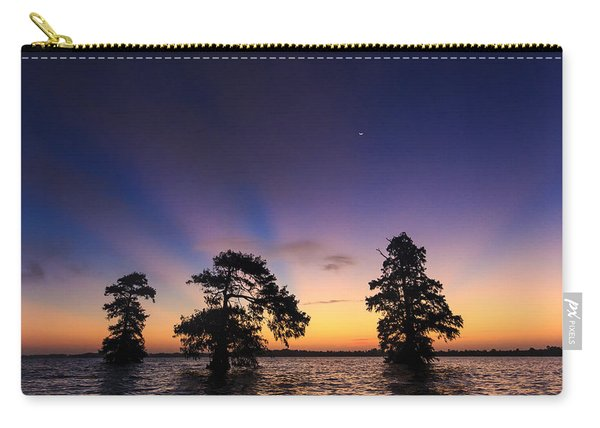 Lake Istokpoga Sunrise Carry-all Pouch