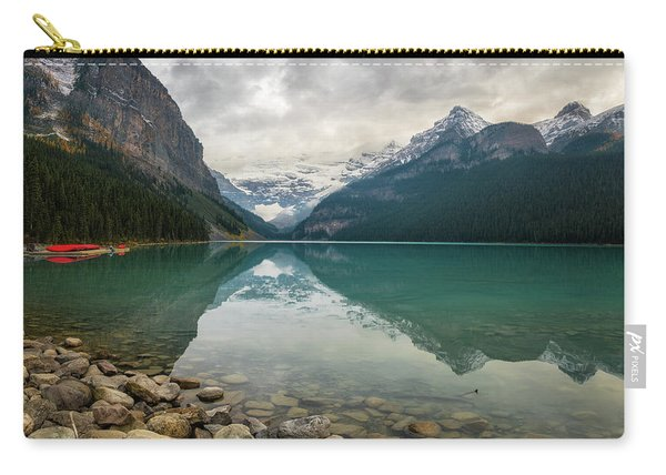 Lake Louise In The Fall Carry-all Pouch
