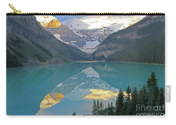 Lake Louise Sunrise Carry-all Pouch