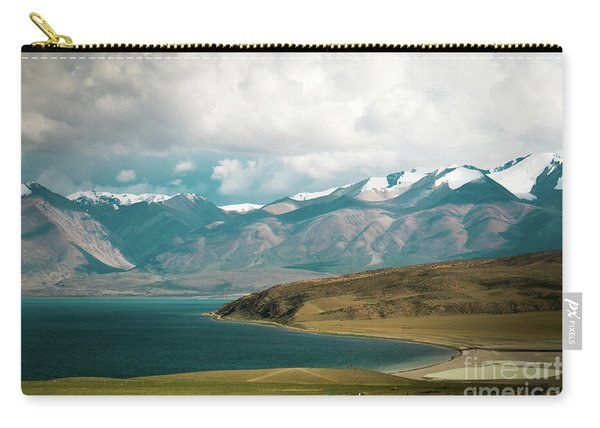 Lake Manasarovar Kailas Yantra.lv Tibet Carry-all Pouch