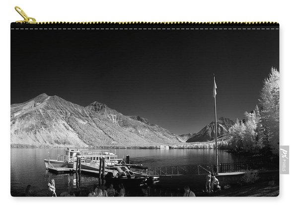 Lake Mcdonald Boat Dock 2 Carry-all Pouch