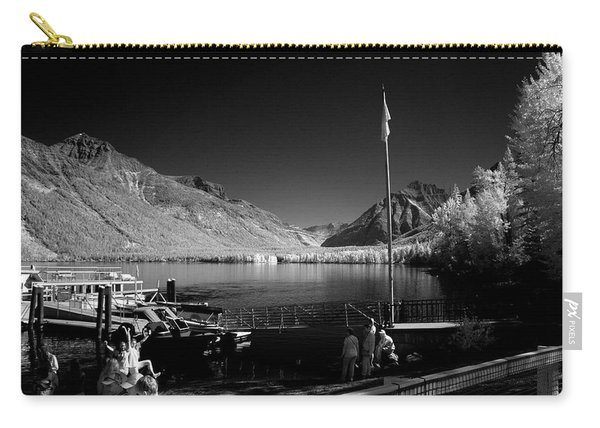Lake Mcdonald Boat Dock Carry-all Pouch