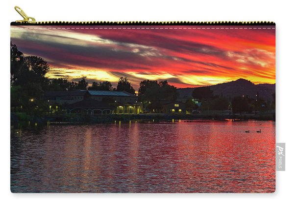 Lake Of Fire Carry-all Pouch