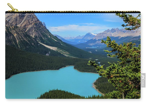 Lake Peyto Banff National Park Alberta Canada Carry-all Pouch