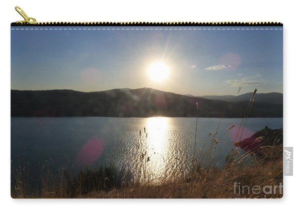 Lake Roosevelt Sun Carry-all Pouch