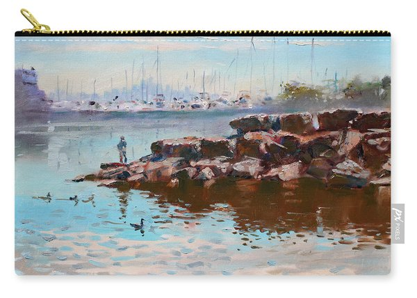 Lake Shore Mississauga Toronto  Carry-all Pouch