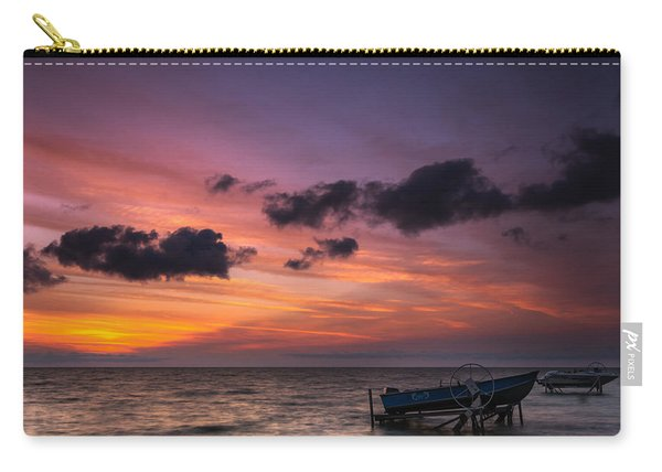 Lake St. Clair Sunrise Carry-all Pouch