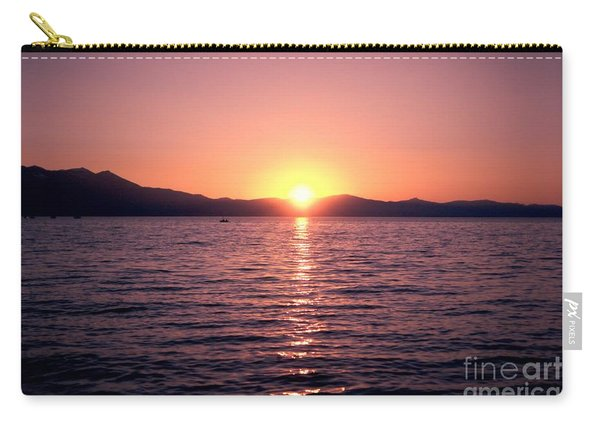 Lake Sunset 8pm Carry-all Pouch
