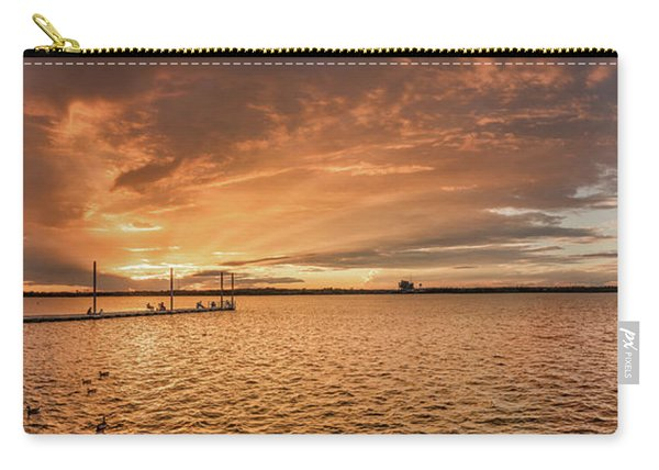 Lake Sunset Carry-all Pouch