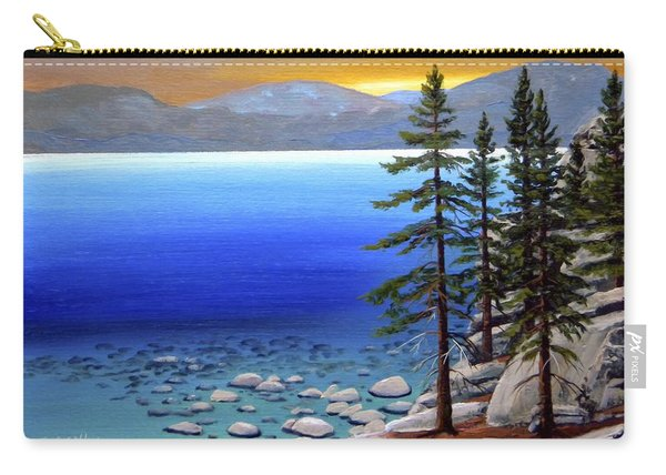 Lake Tahoe Sunrise Carry-all Pouch