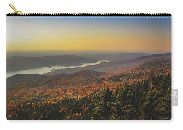 Lake Tremblant At Sunset Carry-all Pouch