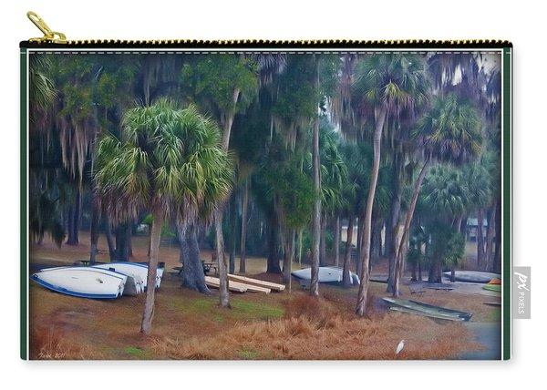 Lake Wauburg Rain Carry-all Pouch