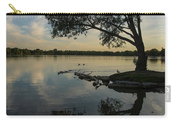 Lake Wilcox Lone Tree 0690 Carry-all Pouch