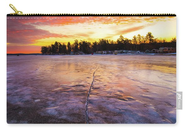 Lake Winnipesaukee January Sunrise Carry-all Pouch