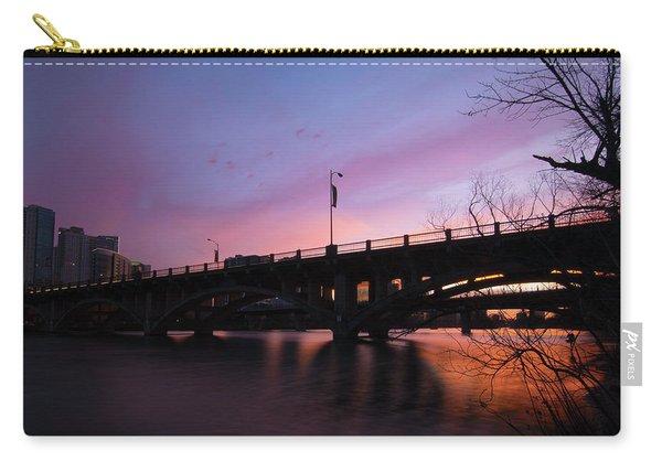 Lamar Blvd Bridge Carry-all Pouch