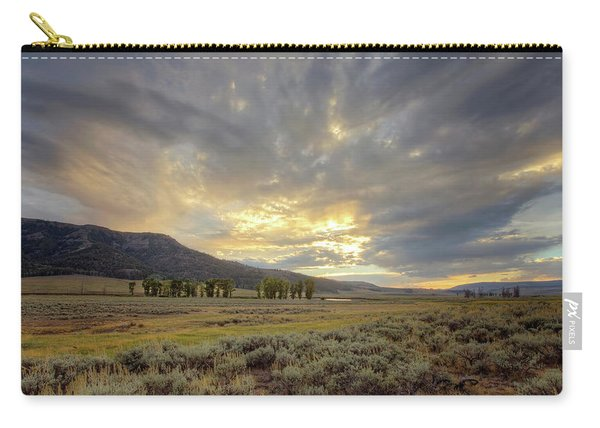 Lamar Valley Sunset Carry-all Pouch