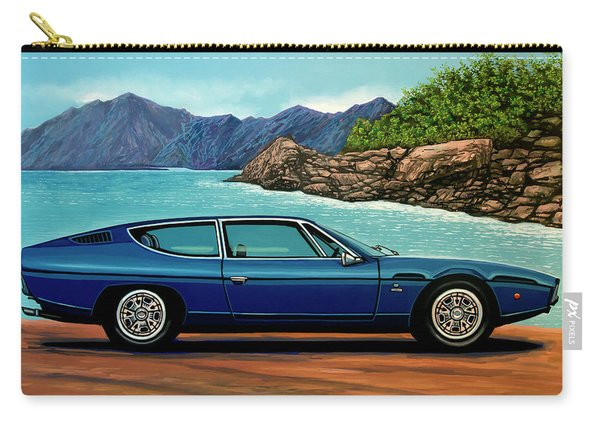 Lamborghini Espada 1968 Painting Carry-all Pouch