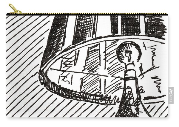 Lamp 1 2015 - Aceo Carry-all Pouch