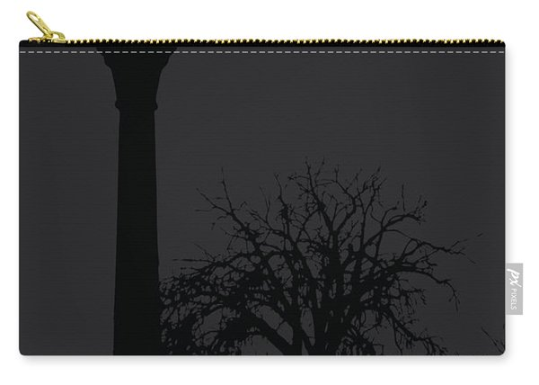 Lamp At Night Carry-all Pouch