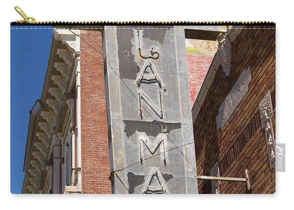 Lan Mart Building In Petaluma California Usa Dsc3772 Carry-all Pouch
