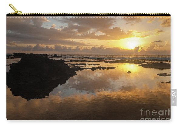 Lanai Sunset #1 Carry-all Pouch