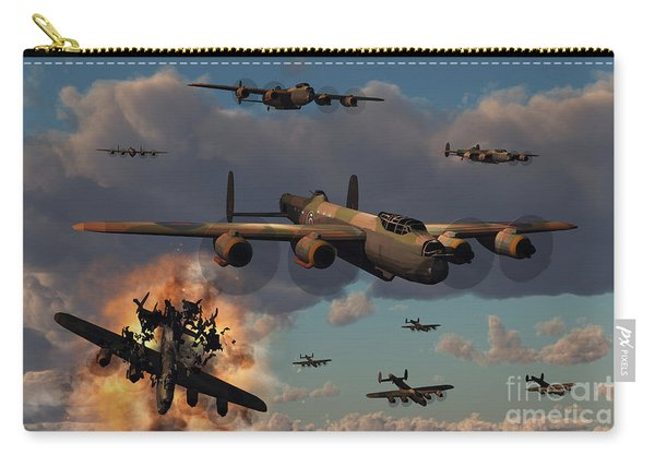 Lancaster Heavy Bombers Of The Royal Carry-all Pouch