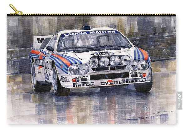 Lancia 037 Martini Rally 1983 Carry-all Pouch