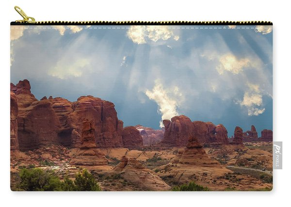Land Of The Giants Carry-all Pouch