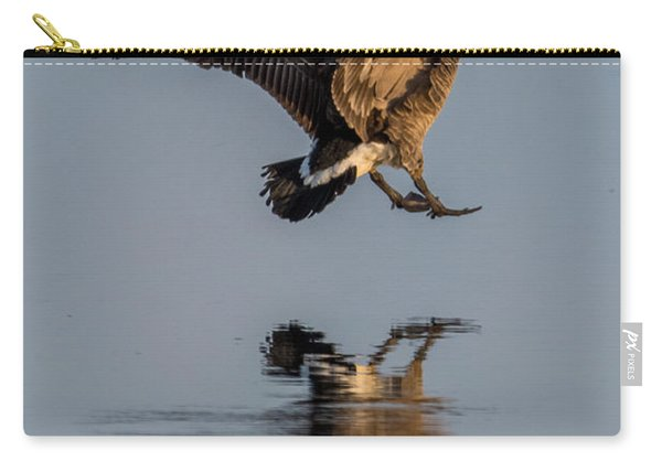 Landing Canadian Goose Carry-all Pouch