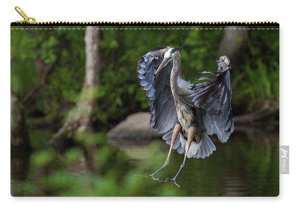 Landing Heron Carry-all Pouch