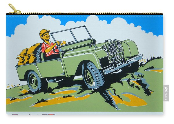 Landrover Advert - Go Anywhere.....do Anything Carry-all Pouch