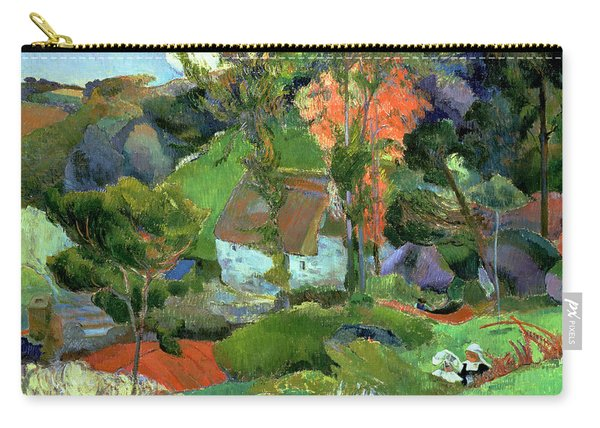 Landscape At Pont Aven Carry-all Pouch