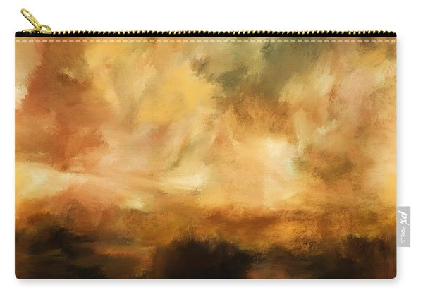 Landscape At Sunset Carry-all Pouch