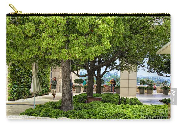 Landscape Getty Museum Center Court  Carry-all Pouch