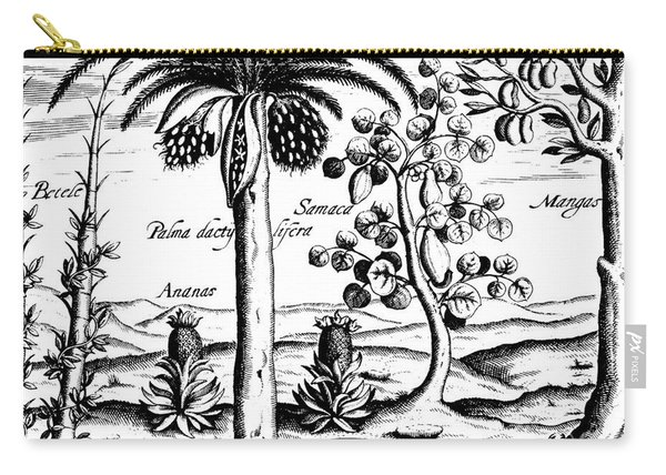 Landscape, Illustration From India Orientalis, 1598  Carry-all Pouch