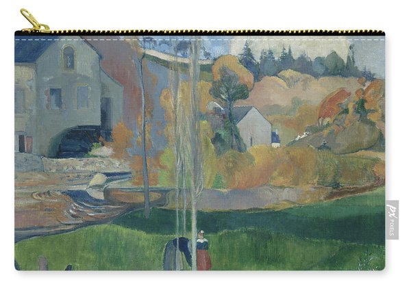 Landscape In Brittany, The David Mill Carry-all Pouch