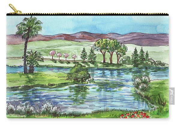 Landscape Spring In California Carry-all Pouch