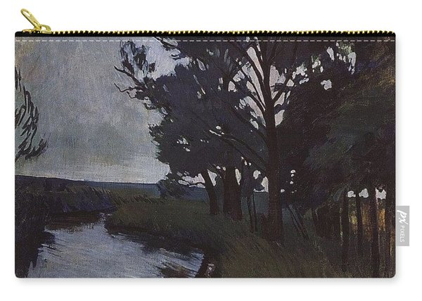 Landscape With A River Zinaida Serebryakova Carry-all Pouch