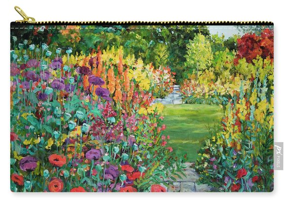 Landscape With Poppies Carry-all Pouch