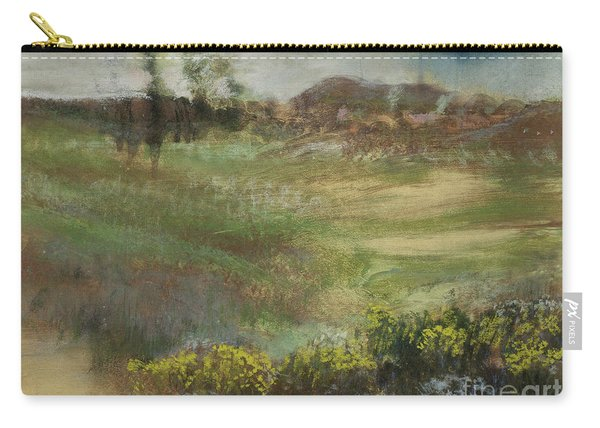 Landscape With Smokestacks Carry-all Pouch