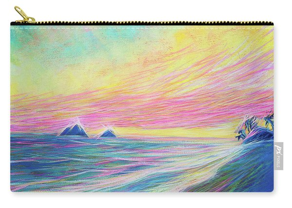 Lanikai Sunrise Carry-all Pouch