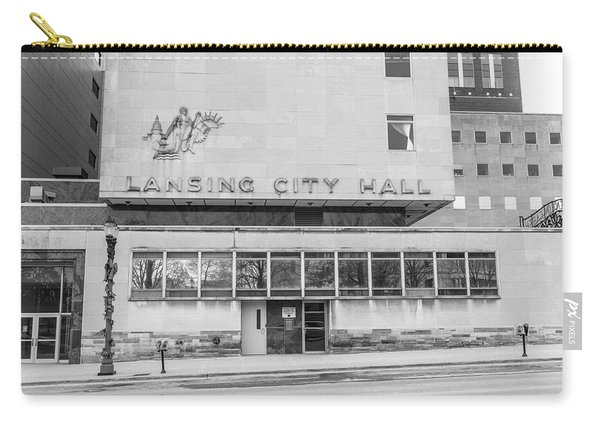Lansing Michigan City Hall  Carry-all Pouch