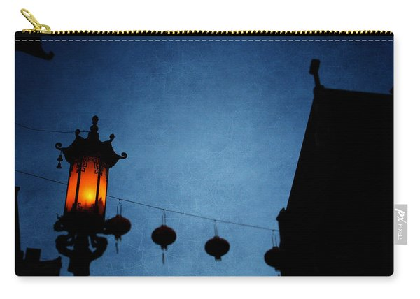 Lanterns- Art By Linda Woods Carry-all Pouch