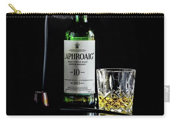 Whiskey And Smoke Carry-all Pouch