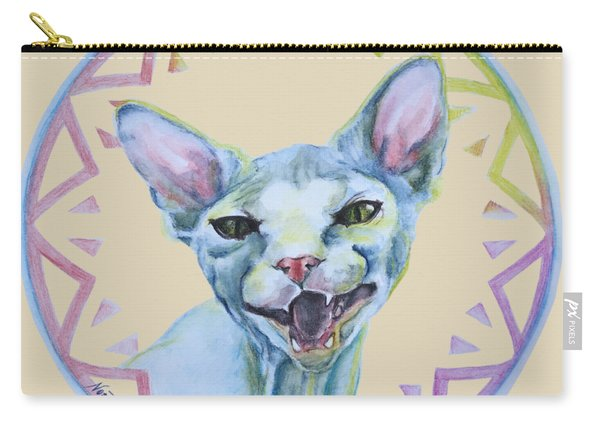 Lara Cat Carry-all Pouch